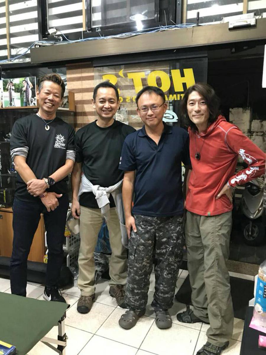 来月より台湾の拓海釣具様にも Boggy 製品が!