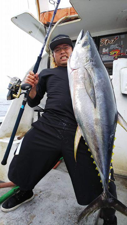またまた宮崎県のインパクト船長、江藤様からの釣果報告頂きました。
