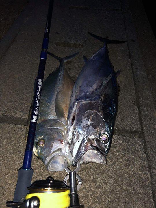 沖縄在住、比嘉様よりホームベースポイントにての釣果報告頂きました。