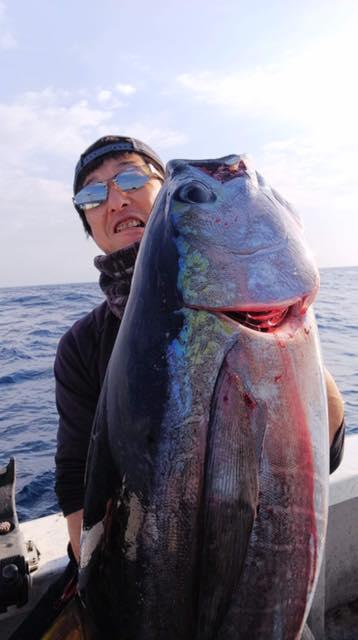 宮崎県の#遊漁船インパクトの船長から届きました!